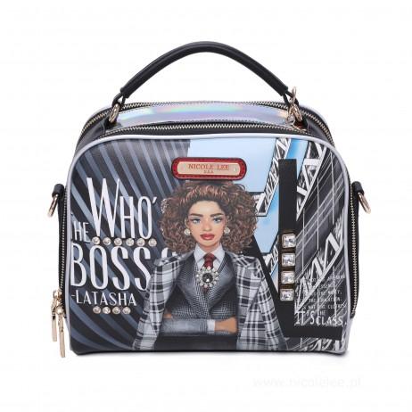 WHO'S THE BOSS LATASHA MESSENGER BAG