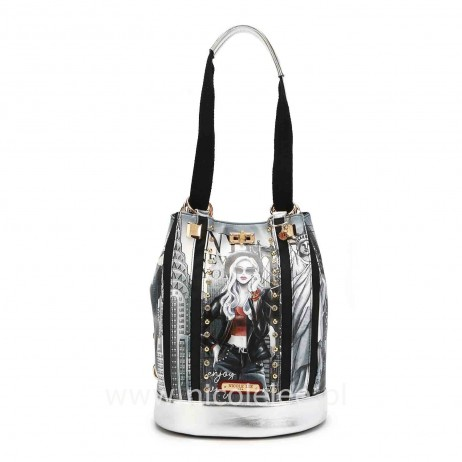 LIFE IN NEW YORK CHIC MULTIFUNCTIONAL BACKPACK